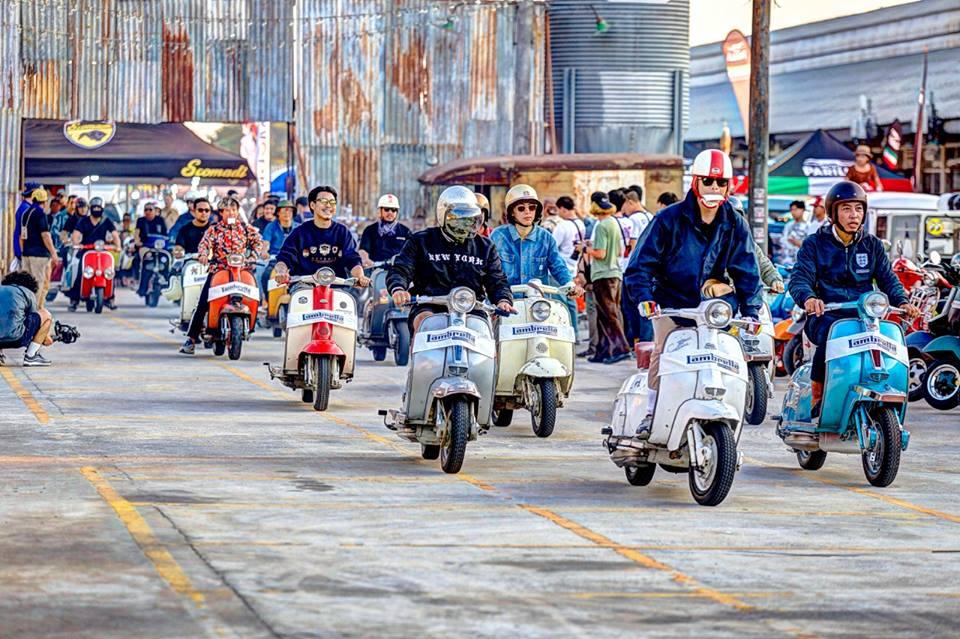 สมาคมคนบ้าสกู๊ตเตอร์แห่งประเทศไทย (สบสท)