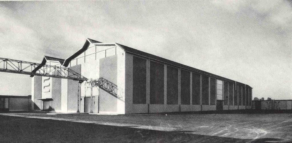 โรงงานแรก Innocenti S.A.